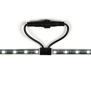 Black Low Voltage LED 60-Inch Landscape Strip Light, 3000 Kelvins