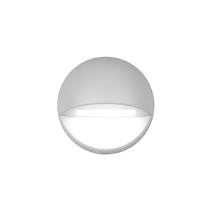 White LED Three-Inch Low Voltage Landscape Deck and Patio Light, 3000 Kelvins