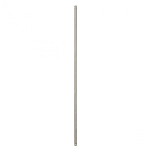 Solorail 12-Inch Extension Rod - Brushed Nickel