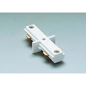 Straight Line Connector JI - White