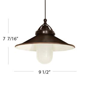 Freeport Brushed Nickel One Light LED Mini Pendant