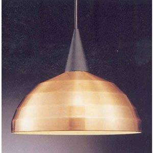 Line-Voltage Pendant Beehive Metal Shade PLD-G404 - Copper