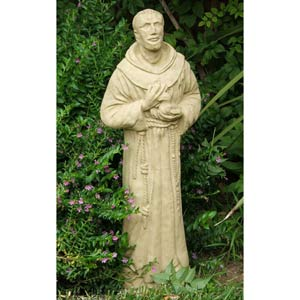 St. Francis Statue - Up