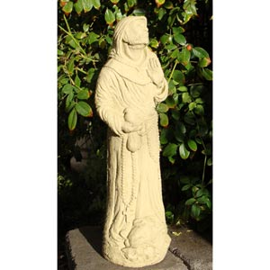 St. Francis Statue - Hooded