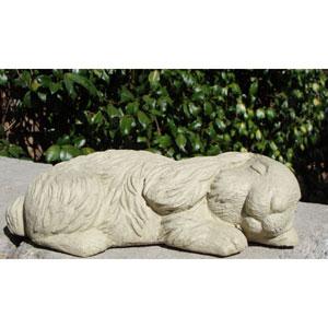 Classic Sleeping Bunny Cast Stone Statue