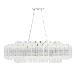 Marquette Polished Chrome 18-Inch LED Chandelier