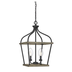 Danbury Weathervane Two-Light Outdoor Chandelier