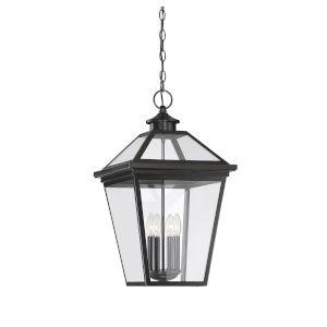 Ellijay English Bronze Four-Light Outdoor Hanging Lantern