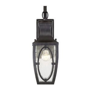 Shelton English Bronze and Gold One-Light Outdoor Wall Sconce
