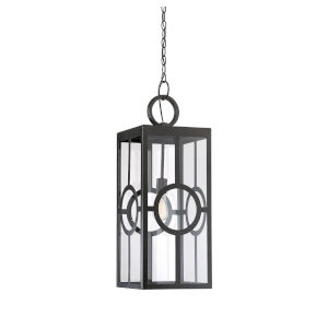 Lauren English Bronze One-Light Outdoor Hanging Lantern