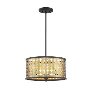Pelham Castillo Three-Light Convertible Pendant