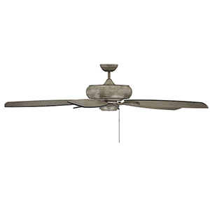 Wind Star Aged Wood Ceiling Fan