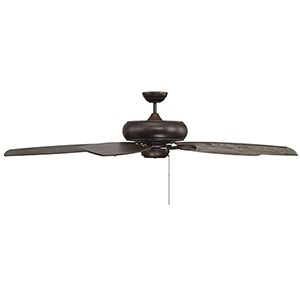 Wind Star Espresso Ceiling Fan