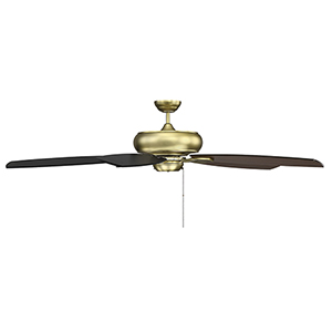 Wind Star Estate Brass Ceiling Fan