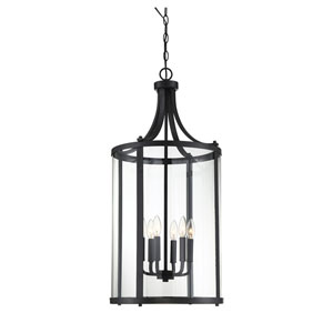 Penrose Black Six-Light Pendant