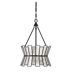 Chapelle English Bronze Four-Light Pendant