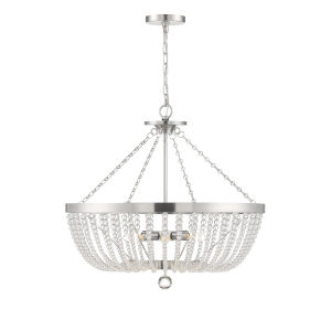Bergamo Antique Nickel Six-Light Pendant