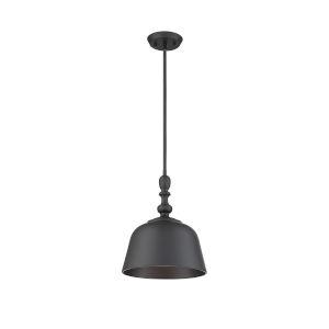 Berg Matte Black One-Light Pendant