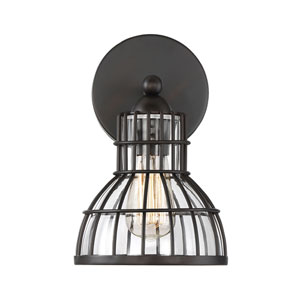 Grant English Bronze One-Light Wall Sconce