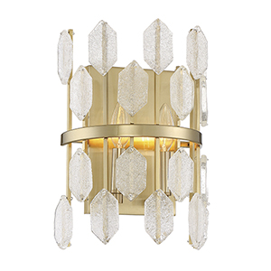 Royale Noble Brass Two-Light Wall Sconce