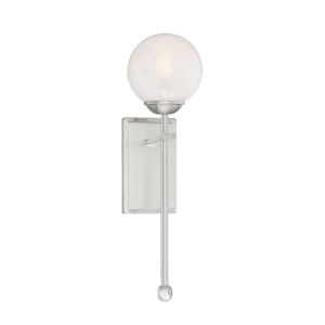 Medina Satin Nickel One-Light Wall Sconce
