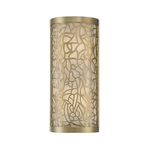 New Haven New Burnished Brass Two-Light Wall Sconce