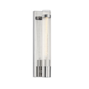Willmar Polished Nickel One-Light Wall Sconce