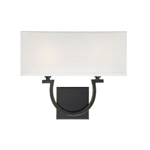 Rhodes Classic Bronze Two-Light Wall Sconce