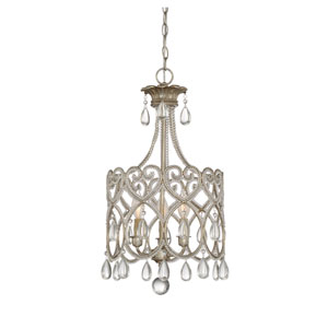 Argentum Three-Light Mini Chandelier