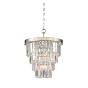 Tierney Polished Nickel Four-Light Pendant