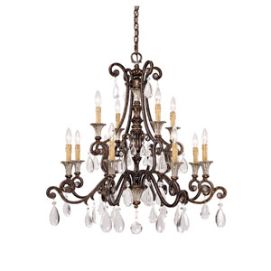 St. Lawrence Twelve-Light Chandelier