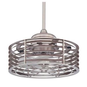 Sea Side Satin Nickel Ceiling Fan