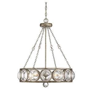 Warwick Brittania Gold Five-Light Pendant