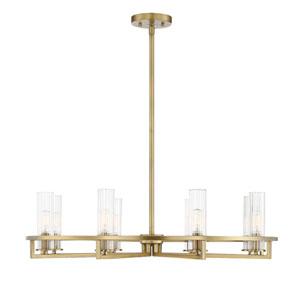 Maxim Lighting International Fairmont Natural Aged Brass