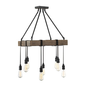 Burgess Durango 22-Inch Eight-Light Chandelier