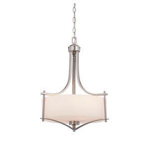 Colton Nickel and Pewter Three-Light Pendant
