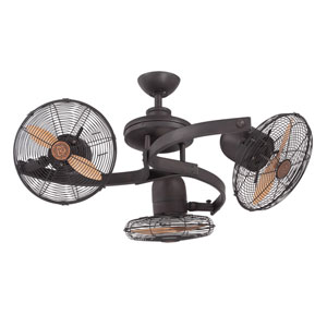 Circulaire III English Bronze Patio Ceiling Fan
