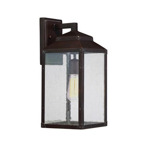 Brennan English Bronze 6.5-Inch One-Light Outdoor Sconce