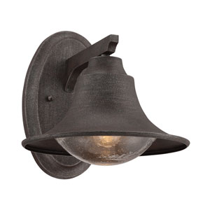 Trent Artisan Rust 10-Inch One-Light Outdoor Sconce