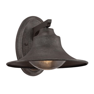 Trent Artisan Rust 12-Inch One-Light Outdoor Sconce
