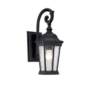 Hampden Black 7.5-Inch One-Light Outdoor Wall Sconce