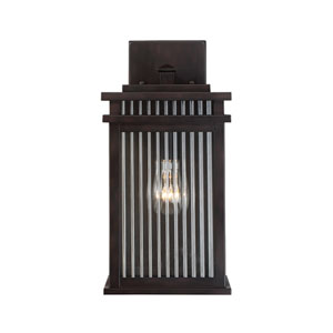 Radford English Bronze One-Light 14-Inch Outdoor Wall Sconce