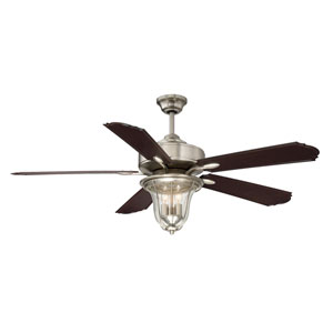 Trudy Satin Nickel  Ceiling Fan