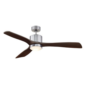 Amherst Brushed Pewter 52-Inch One-Light LED Ceiling Fan