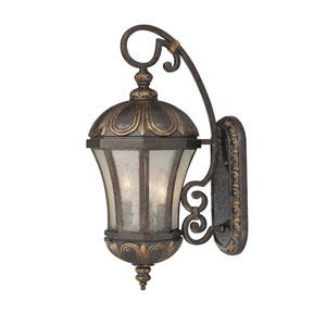 Ponce de Leon Old Tuscan Small Outdoor Wall Mount