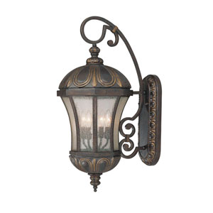 Ponce de Leon Old Tuscan Medium Outdoor Wall Mount