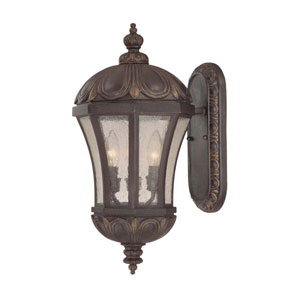 Ponce de Leon Old Tuscan Extra-Small Outdoor Wall Mount