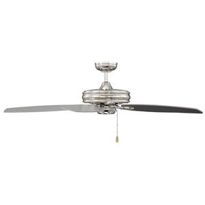 Kentwood Polished Nickel  Five-Blade Ceiling Fan