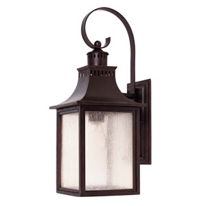 Monte Grande English Bronze One-Light Outdoor Wall Mount