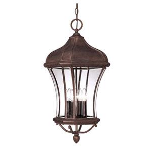 Realto Walnut Patina Hanging Lantern